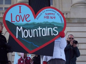 Photo from I Love Mountains Day by Laura Heller.